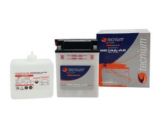 Batterie TECNIUM BB14L-A2 conventionnelle livrée avec pack acide - 329760