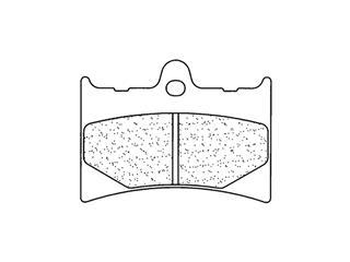 Plaquettes de frein CL BRAKES 2398MX10 métal fritté