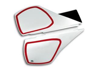 Plaques latérales UFO blanc Yamaha TT600 - 78167910