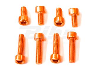Kit parafusaria tampa reservatório Pro-Bolt alumínio TYA460O laranja