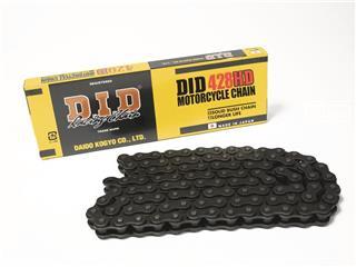 Chaîne de transmission D.I.D 428 HD noir/noir 126 maillons