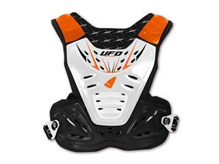 Pare-pierre UFO Reactor 2 Evo noir/blanc/orange taille adulte