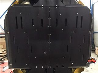 AXP Full Frame Glide Plate PHD 10mm Black Yamaha YXZ1000R