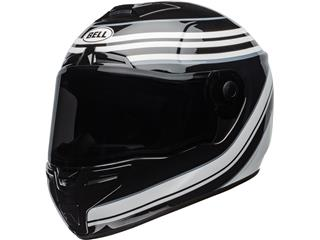 BELL SRT Helm Vestige Gloss Weiß/Schwarz Größe M