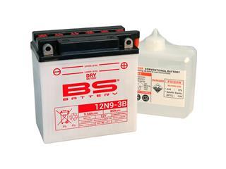 Batterie BS BATTERY 12N9-3B conventionnelle livrée avec pack acide - 321868