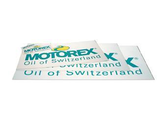 Autocollant vitrine Motorex 840x385mm - 989052