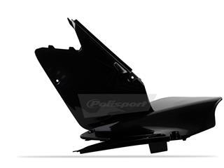 Plaques latérales POLISPORT noir Suzuki RM125/RM250