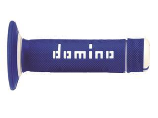 DOMINO A020 Bicolore MX Griffgummis Halbwaffel-Design blau/weiß - 872132
