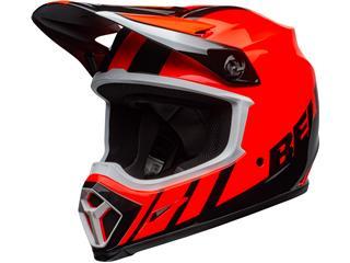 Casque BELL MX-9 Mips Dash Orange/Black taille M - 801000200169
