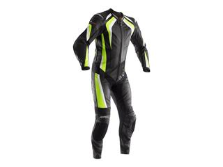 RST R-18 Suit CE Leather Flo Yellow Size XXL