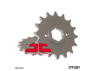 JT SPROCKETS Front Sprocket 16 Teeth Steel Standard 520 Pitch Type 281