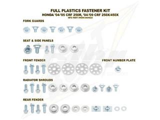 Kit tornillería de plástica Bolt 04-05 CRF250R 04-13 CRF250X/450X