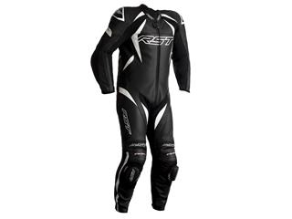 RST Tractech EVO 4 CE Race Suit Leather White/Black Size XL Men - 816000100171