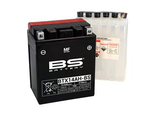 BS BATTERY Battery BTX14AH-BS Maintenance Free with Acid Pack