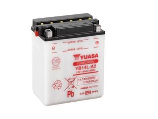 Batterie YUASA YB14L-A2 conventionnelle - 32YB14LA2