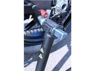 Béquille arrière basse BIHR BY LV8 avec supports en V noir - 6e0ffe5c-8433-4b08-b38a-66ed9302a25e