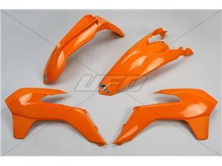 Kit plastique UFO orange KTM - 78006453
