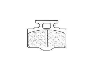Plaquettes de frein CL BRAKES 1034MX10 métal fritté - 271034MX10