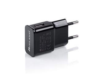 MIDLAND USB Wall Charger 220/5V