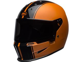 BELL Eliminator Helmet Rally Matte/Gloss Black/Orange Size XXXL