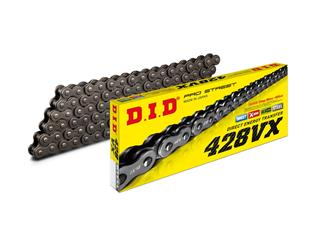 D.I.D 428 VX Transmission Chain Black/Black 144 Links