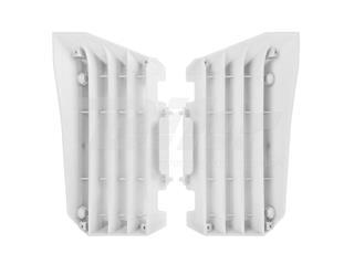 Aletines de radiador Polisport Yamaha blanco 8455400001
