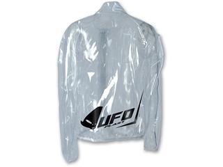 UFO Rain Jacket Clear Size XXXL