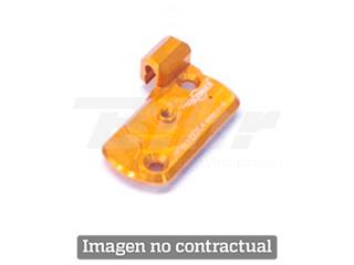 Tapadera de depósito integrado para Bomba descompresor anodizada. Acabado HARD NICKEL. (COU3HN) - COU3HN