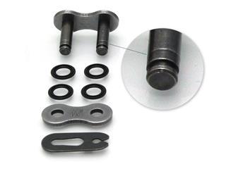 Attache type clip D.I.D 428 VX noir/noir