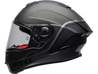BELL Race Star Flex DLX Helmet Velocity Matte/Gloss Black Size L - 6f54ee6e-582a-4692-a378-f7a0d09c0ab3