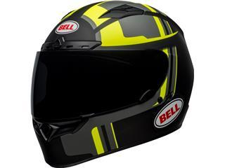 BELL Qualifier DLX Mips Helmet Torque Matte Black/Hi Viz Size XL - 800000150571