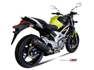 Silencieux MIVV Oval Carbon Cap carbone Suzuki Gladius SFV 650