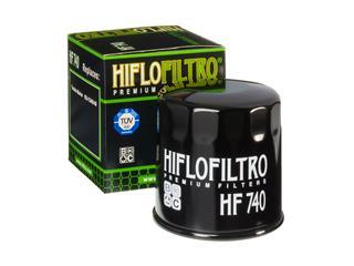 Filtre à huile HIFLOFILTRO HF740 noir Yamaha