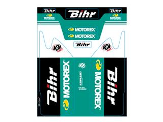Kit de déco de fourche Bihr/Motorex KUTVEK KAWASAKI KX450F - 780946