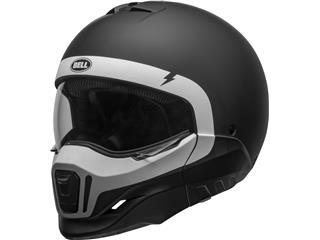 BELL Broozer Helm Cranium Matte Black/White Maat S - 800000600268
