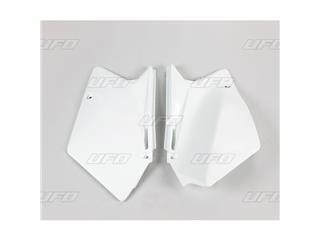 Plaques latérales UFO blanc Suzuki RM-Z450 - 78328510