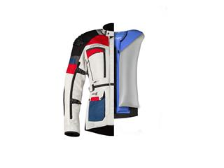 Veste RST Adventure-X Airbag CE textile Ice/Blue/Red taille L homme - 70c796a2-2260-449d-9bd1-ab9f25c38ee8