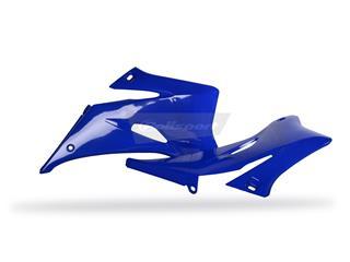 Ouïes de radiateur POLISPORT bleu Yamaha YZ250F/YZ450F - PS115B07