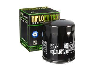 Filtre à huile HIFLOFILTRO HF551 noir Moto Guzzi