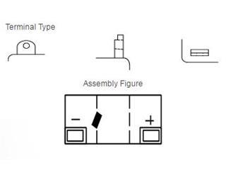 Batterie YUASA 6N6-3B conventionnelle - 71500980-edd9-4c03-8f4b-92aa668bd50e
