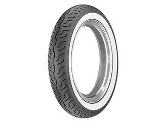 DUNLOP Tyre K177F WWW Wide-White-Sidewall 120/90-18 M/C 65H TL
