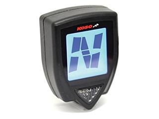 KOSO Super Slim Style Gear Indicator Universal Black