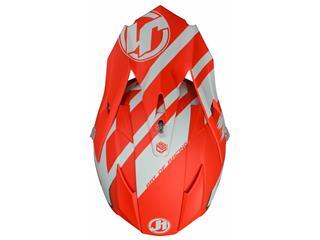 JUST1 J32 Pro Helmet Kick White/Red Matte Size XS - 72038225-accb-45f8-a2ab-d9a3175d2687