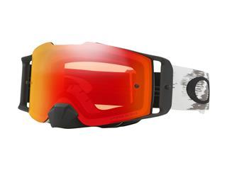 Masque OAKLEY Front Line Matte White Speed écran Prizm MX Torch Iridium
