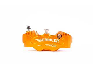 BERINGER Aerotec® Left Radial Brake Caliper 4 Pistons Ø32mm Spacing 108mm Orange