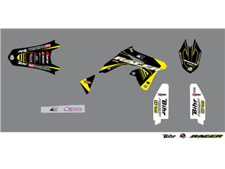 Kit déco KUTVEK Racer jaune Suzuki RM-Z250
