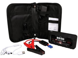 MINI CARGADOR JUM STARTER BS PB-01 / 12V / 12000MAH USB PORT+CABLE - 89504007