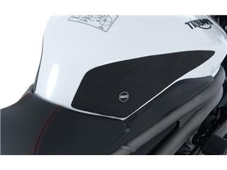 R&G RACING Tank Traction Pads Clear (2 Pieces) Triumph Speed Triple S