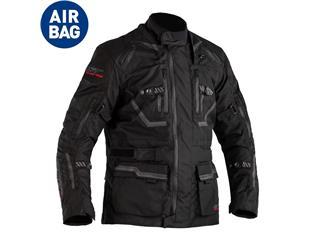 Chaqueta (Textil) RST PARAGON 6 Airbag Negro/Negro, 50 EU/Talla S - 814000850168