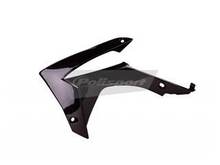 Ouïes de radiateur POLISPORT noir Honda CRF250R/CRF450R - PS215BC14
